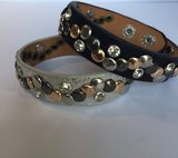 Armband met diamantjes en studs_