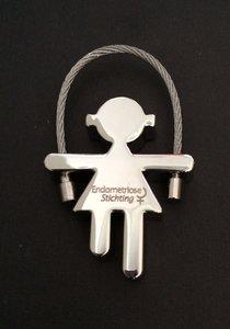 Sleutelhanger Endometriose Stichting