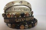 Wikkelarmband *Love*Hope*Happiness_